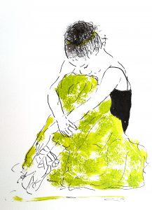 Ballet (34,4x44,4 cm - 1.500 kr.)