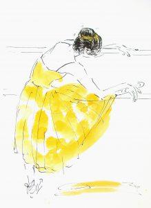 Ballet barre (34,4x44,4 cm - SOLGT)
