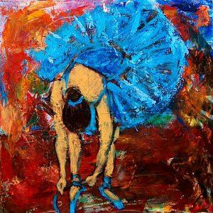 Ballet (40x40 cm - SOLGT)