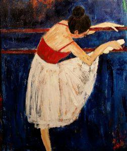 Ballet i barre1 (50x60 cm - 3.200)