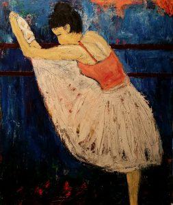 Ballet i barre2 (50x 60 cm - 3.200)